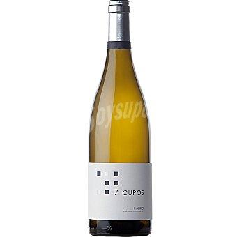 7 Cupos Vino blanco D.O. Ribeiro Botella 75 cl