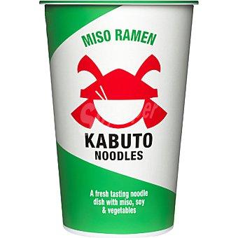 Kabuto Miso Ramen sopa de verduras con miso y soja Bote 85 g