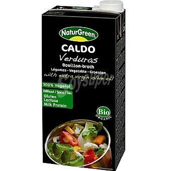 Naturgreen Caldo de verduras con aceite de oliva virgen 100% vegetal Envase 1 l