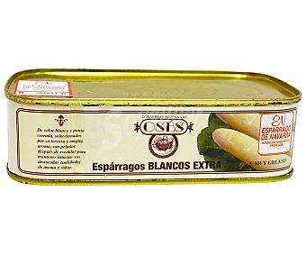 OSÉS Espárragos 5 Frutos Lata de 250 gramos peso escurrido