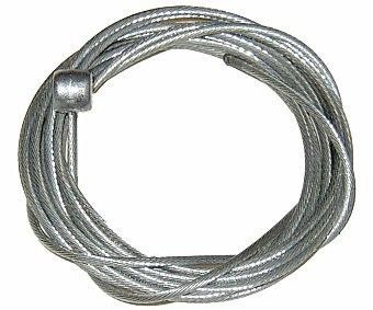 Auchan Ideado para remplazar los cables de cambio de la bicicleta y fabricado en acero inoxidable preestirado 2 metros.