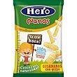 Gusananos con queso desde 12 meses Bolsa 15 g Hero Nanos