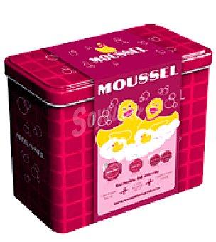 Moussel Pack navidad: gel 600 ml. + jabón manos 300 ml.+2 geles de baño 100 ml. 1 ud