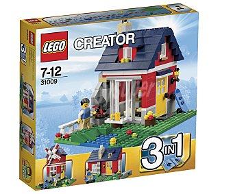 LEGO Juego de Construcciones Creator Pequeña Casa de Campo, Modelo 31009 1 Unidad