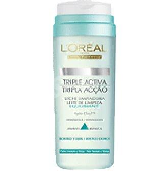 L'Oréal Leche limpiadora equilibrante Rostro y Ojos para pieles normales y mixtas Bote de 200 ml