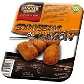 ASERCELI Croquetas de jamón sin gluten Bandeja 300 g
