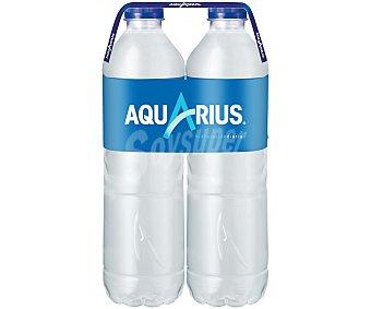 Aquarius Bebida isotónica de limón Botella de 1,5 litros pack de 2