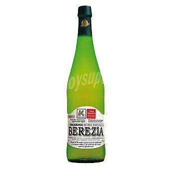 BEREZIARTUA Sagardoa sidra natural Eusko Label  botella 75 cl