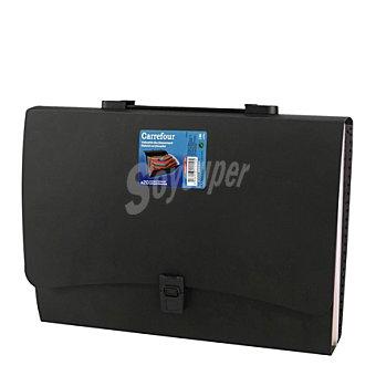 Carrefour Clasificador/ maletín expandible 20 posiciones 1 ud