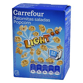 Carrefour Palomitas Light Pack 3x90 g