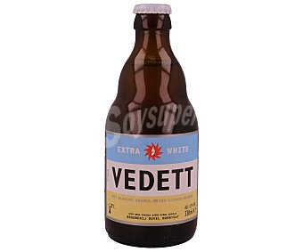 VEDETT Cerveza blanca de trigo Botella de 33 centilitros