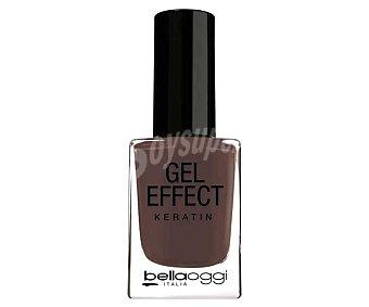 BELLAOGGI GEL EFFECT Esmalte de uñas efecto gel, tono 074 Black brown Gel effect.