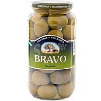 Bravo Aceitunas gordal sabor anchoa Tarro 550 g