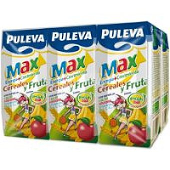 Puleva Preparado max cereales-fruta Pack de 6x200 ml