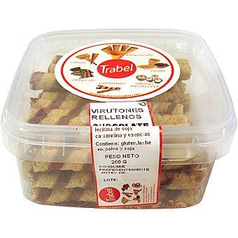 Trabel Barquillos virutones rellenos de chocolate Tarrina 275 g