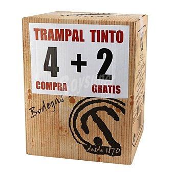 Trampal Caja de vino tinto Pack 4x75 cl