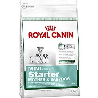 ROYAL CANIN MINI STARTER Producto especial para madres y cachorros de raza mini hasta 2 meses de edad bolsa 3 kg Bolsa 3 kg