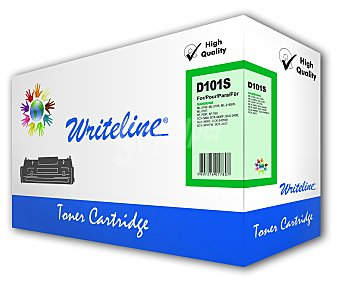 WRITELINE Toner compatible MLT-D101S, Negro, compatible con impresoras Samsung: ML-2160 / 2162 / 2168 / 2162W / 2165W / 2168W / 2164 / SCX-3400 / 3400F / 3405F / 3405W / 3405WF / SF-760P / 765P