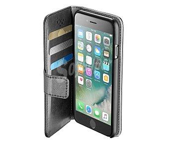 Cellular Line Funda con tapa compatible con iphone 7 (teléfono no incluido) Book Agenda