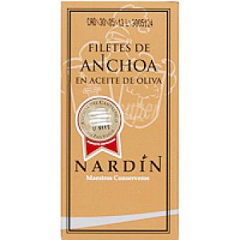 Nardin Filete de anchoa en aceite de oliva Lata 50 g