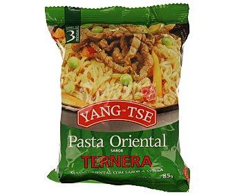 Yang-Tse Pasta oriental con sabor a ternera 65 gramos