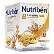 Papilla instantánea de 8 cereales con un toque de miel y 4 frutas para bebés a partir de 6 meses 600 gramos Nutribén