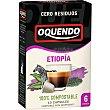 Grandes Orígenes Etiopía café 10 cápsulas compatibles con máquinas Nespresso Estuche 85 g Oquendo