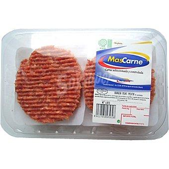 MASCARNE Hamburguesas mixtas vacuno-cerdo Burger Meat bandeja 600 g 6 unidades