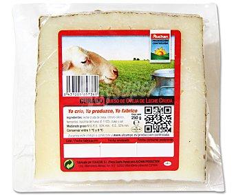 Auchan Producción Controlada Queso de oveja curado 250 gramos