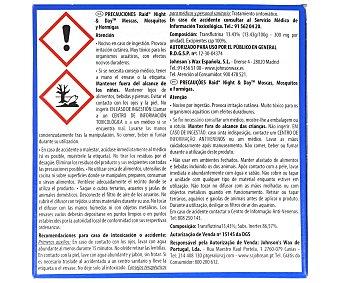 Raid Insecticida aparato eléctrico N&D trío + recambio 1 Unidad
