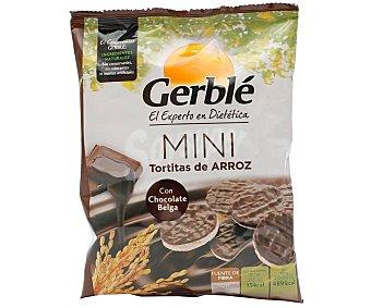 Gerblé Mini tortitas de arroz con chocolate belga 48 g