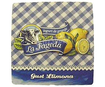 La Fageda Yogur de limón Pack 4x125 g