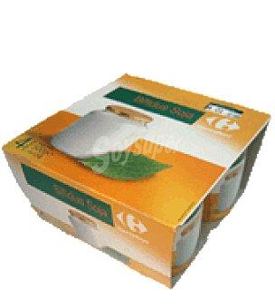 Carrefour Bífidus natural con soja Pack de 4x125 g