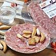 Chorizo blanco loncheado Envase 100 g aprox Revilla