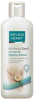 Natural Honey Gel 2en1 Cuper&Higiene Intima 600 ml.