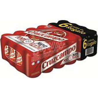 Cruzcampo Cerveza Pack 18+6x33 cl