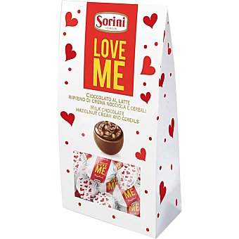Sorini Bombones de crema de avellanas y cereales Love Me Sorini 105 g