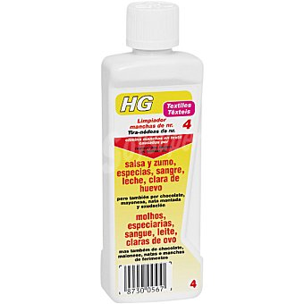 HG quitamanchas de salsa zumo especias sangre leche y clara de huevo bote 500 ml