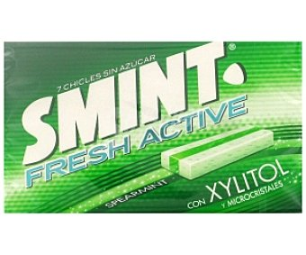 Smint Smint Fresh Active. Chicles hierbabuena 17 Gramos