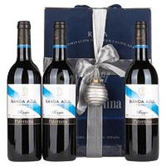 D.O.C. Rioja Crianza PATERNINA Estuche Vino Pack 3 x 0,75l