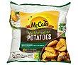 Mediterranean Potatoes gajos de patatas con piela las finas hierbas 750 g Mc Cain