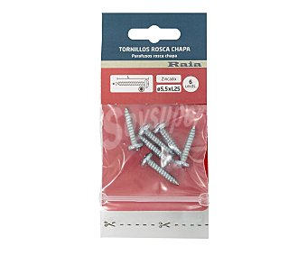 Arregui Tornillos chapa 5,5 x25mm, ARREGUI.