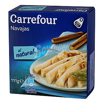 Carrefour Navajas natural 63 g