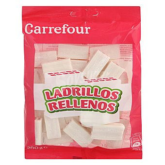 Carrefour Ladrillo blanco relleno rojo 200 g