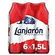 Agua mineral natural Pack 6 x 1.5 l Lanjarón