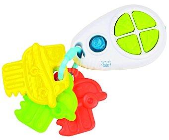 BABY Sonajero con llaves, botones y sonidos 1 unidad