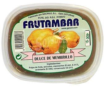 Frutambar Dulce Manzana, Ciruelas, Membrillo 400 Gramos
