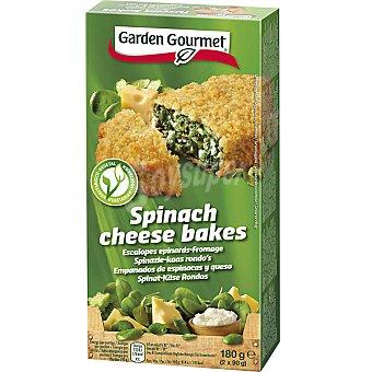Gourmet Garden empanados de espinacas y queso estuche 180 g