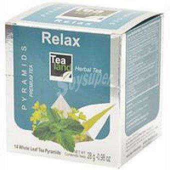 Tealand Infusión relax Caja 14 monodosis