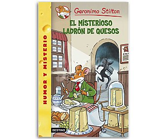 INFANTIL Gerónimo Stilton: El misterioso ladrón de quesos, vv.aa, género: infantil, editorial: Destino. Descuento ya incluido en pvp. PVP anterior: 36: El misterioso
